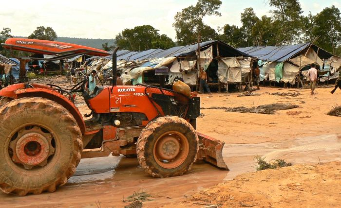 Mobile migrants might be at high risk of contracting malaria due to their occupations, working, for instance, in areas just cleared of forests.